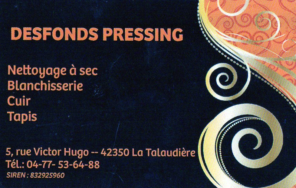 desfonds-pressing